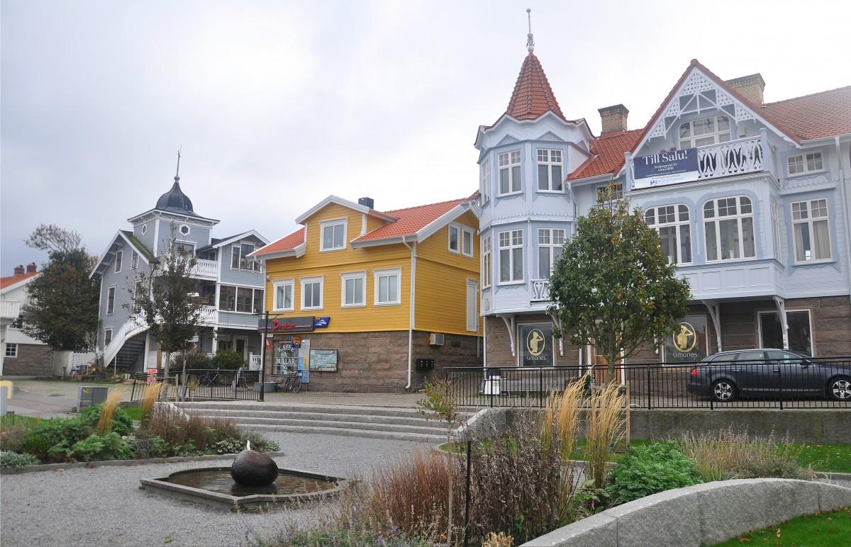 Zdjęcia: Smögen, Vastra Gotaland, Centrum Smögen, SZWECJA