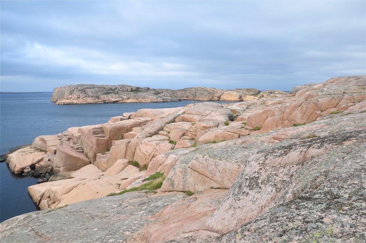 Zdjęcia: Smögen, Vastra Gotaland, Wybrzeże w Smögen, SZWECJA