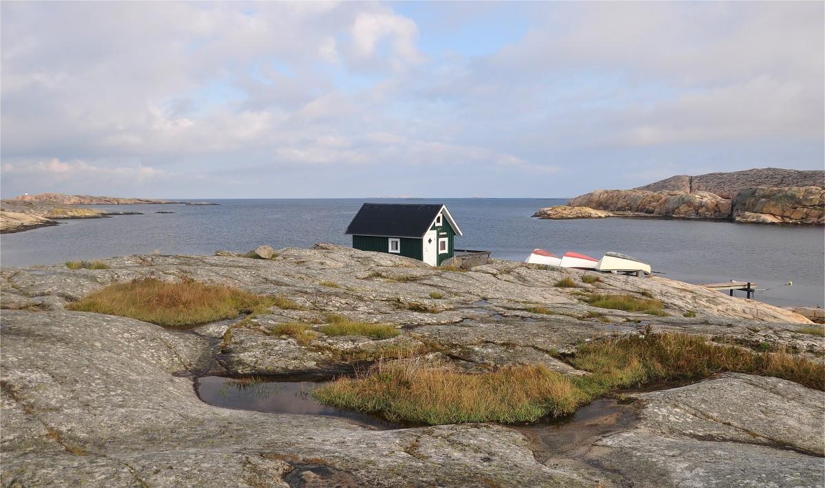 Zdjęcia: Smögen, Vastra Gotaland, Szkierowe wybrzeże zachodniej Szwecji, SZWECJA