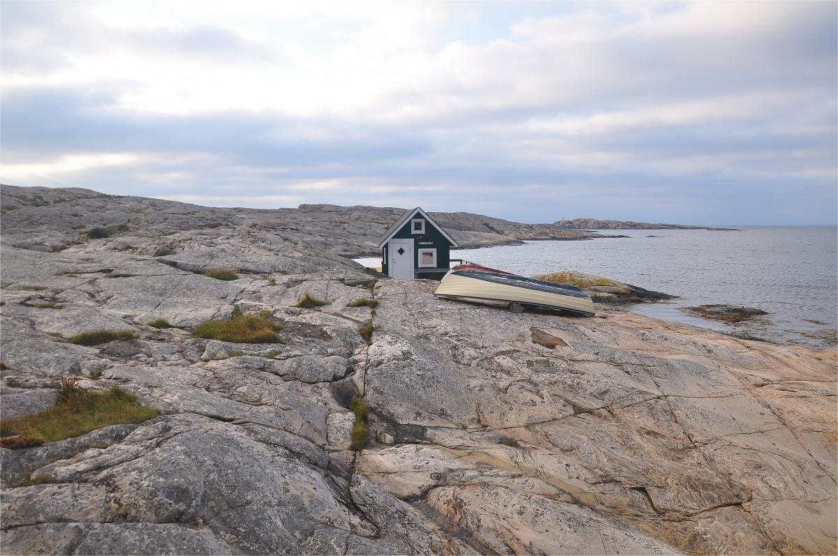 Zdjęcia: Smögen, Vastra Gotaland, Domek nad Morzem Północnym, SZWECJA