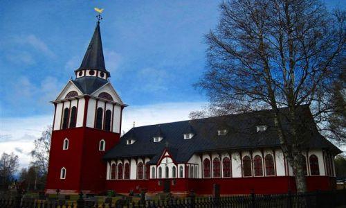 Zdjęcie SZWECJA / JAMTLAND / ALVROS / KOŚCIÓŁ W ALVROS
