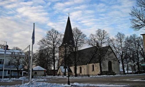 Zdjecie SZWECJA / VASTMANLAND / NORBERG / KOŚCIÓŁ  W  NORBERG