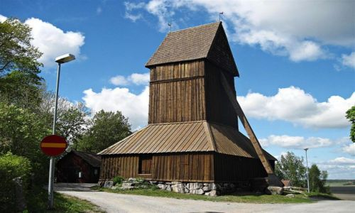 Zdjecie SZWECJA / VASTMANLAND / HARKEBERGA / KOŚCIÓŁ  W  HARKEBERGA
