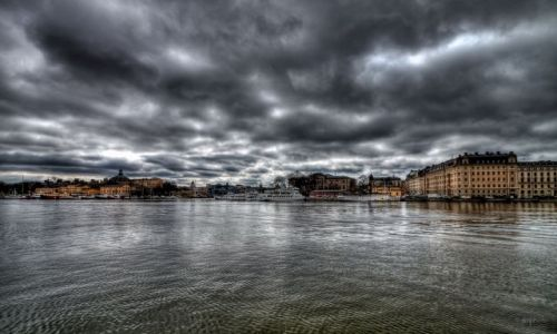 Zdjecie SZWECJA / Stockholm / Stockholm / Nybrokajen, Stockholm