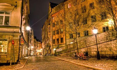 Zdjecie SZWECJA / Stockholm / Stockholm / Stockholm by night series