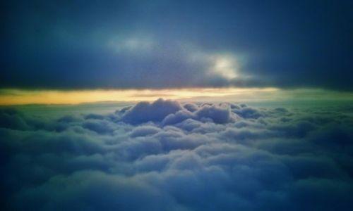 Zdjecie SZWECJA / - / Nad Szwecją:)  / Ponad chmurami ...