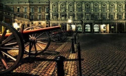 Zdjecie SZWECJA / Stockholm / Stockholm / Stockholm Palace night