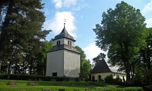 Zdjecie SZWECJA / VARMLAND /  ALVSBACKA / KOŚCIÓŁ  W  ALVSBACKA