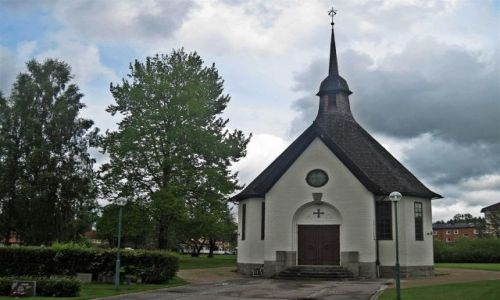 Zdjęcie SZWECJA / VARMLAND / MUNKFORS / KOŚCIÓŁ  W  MUNKFORS