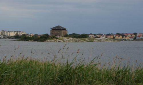 Zdjecie SZWECJA / Blekinge / Karlskrona / Stara prochownia na wyspie