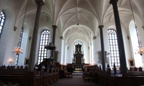 Zdjęcie SZWECJA / Skania / Kristianstad / Kościół Św. Trójcy, nawa główna
