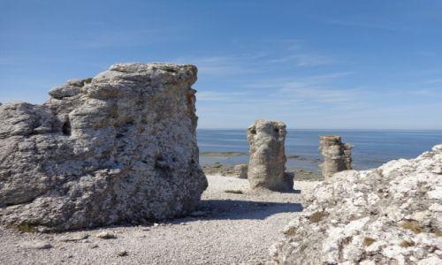 Zdjęcie SZWECJA / Faro / Północne wybrzeże wyspy. / Rowerem po wyspach szwedzkich.