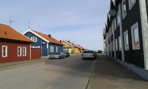 Zdjęcie SZWECJA / Blekinge / Karlskrona / Domy w Karlskronie