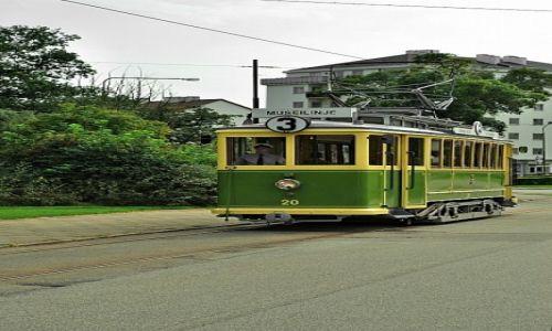 Zdjęcie SZWECJA / skane / malmo / stary tramwaj