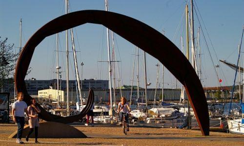 Zdjęcie SZWECJA / Vastra Gotaland / Goteborg / na rowerze