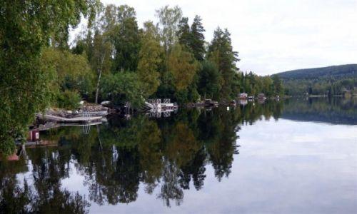 Zdjęcie SZWECJA / Dalarna / Okolice Ludvika / Koniec wakacji