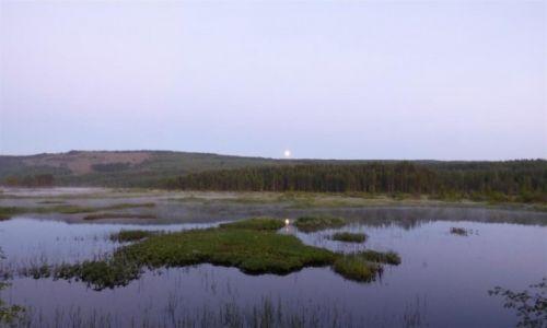 Zdjęcie SZWECJA / Vasterbotten / Okolice Storuman-Laponia / Białe noce