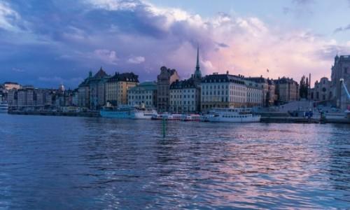 Zdjecie SZWECJA / - / Sztokholm / Wieczorem w Szt