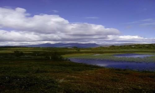 Zdjecie SZWECJA / Norrbotten / Kvikkjok / Bli�ej nieba