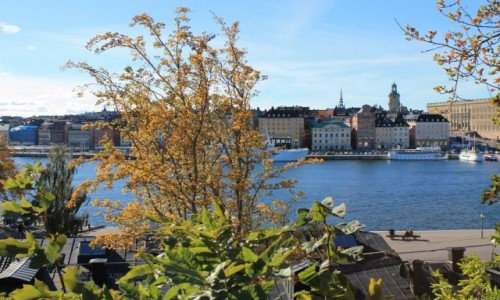 Zdjecie SZWECJA / Sztokholm / Strandvagen / Sztokholm