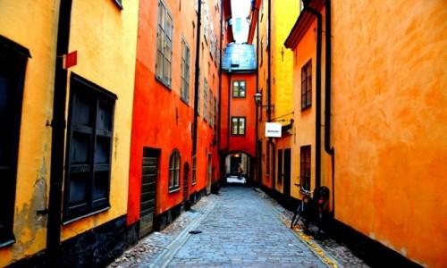 Zdjęcie SZWECJA / Gamla stan / Sztokholm / Uliczki Sztokholmu