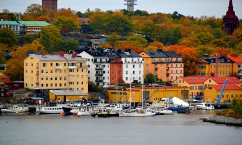 Zdjecie SZWECJA / xxx / Sztokholm / Jesień w Sztokholmie