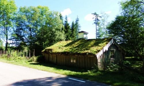 Zdjecie SZWECJA / Południowa Szwecja / około 200 km. od Ystad / a za jeziorem przytulny domek