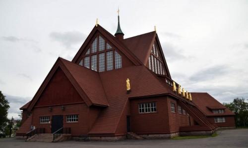 SZWECJA / Kiruna / Kiruna / Kościół w Kirunie