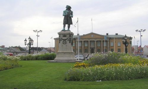 Zdjęcie SZWECJA / Południowa Szwecja. / Karlskrona / Król Karol XI.