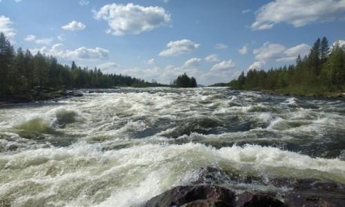 Zdjecie SZWECJA / -Europa / Rzeka Pitea  / Rzeka