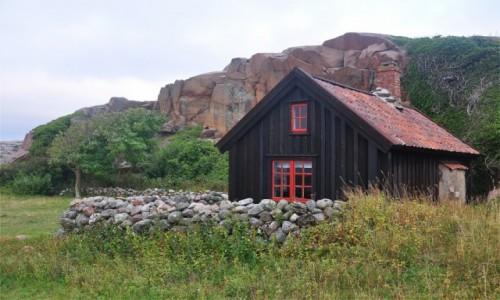 SZWECJA / Szwecja zachodnia / Lysekil / Chatka nad morzem