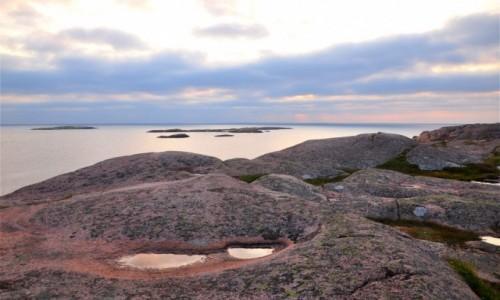 Zdjecie SZWECJA / Szwecja zachodnia / Friluftsled Kleven / Zachód słońca