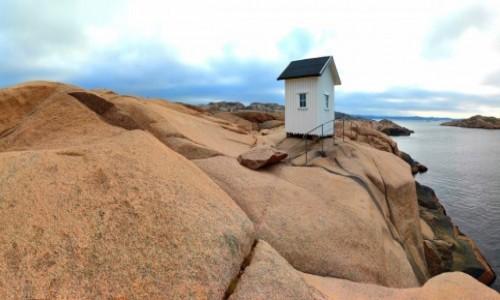 Zdjecie SZWECJA / Vastra Gotaland / Lysekil / Na szwedzkim wybrzeżu