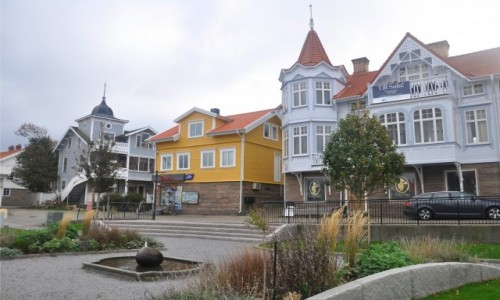 Zdjecie SZWECJA / Vastra Gotaland / Smögen / Centrum Smögen