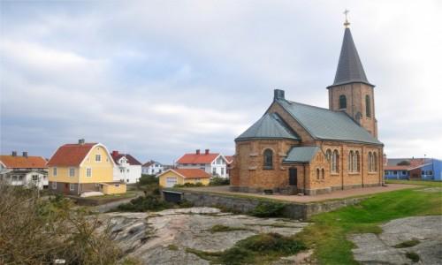Zdjecie SZWECJA / Vastra Gotaland / Smögen / Kościół w Smögen