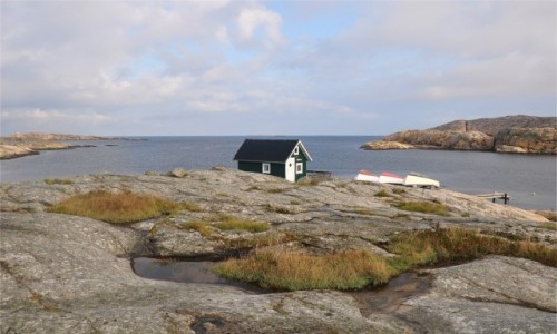 SZWECJA / Vastra Gotaland / Smögen / Szkierowe wybrzeże zachodniej Szwecji