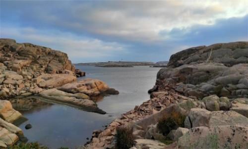 SZWECJA / Vastra Gotaland / Smögen / Skaliste wybrzeże nad Morzem Północnym