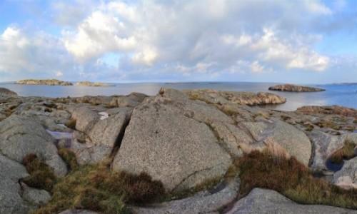 Zdjecie SZWECJA / Vastra Gotaland / Smögen / Krajobraz zachodniego wybrzeża Szwecji