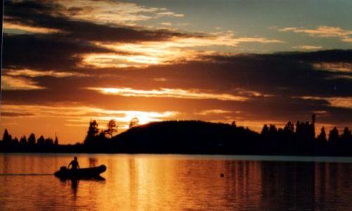 Zdjęcie SZWECJA / Skandynawia / Storuman / Zachód słońca 04