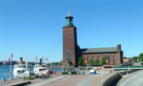 SZWECJA / brak / Sztokholm / Ratusz