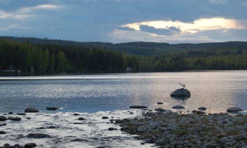 Zdjecie SZWECJA / Halsingland / Rengsjo / Jezioro Storsjon