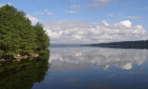 Zdjecie SZWECJA / Środkowa Szwecja / Sundsvall / Widok z namiotu - skandynawia