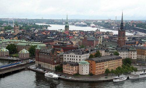 Zdjecie SZWECJA / brak / Sztokholm / Widok na Sztokholm
