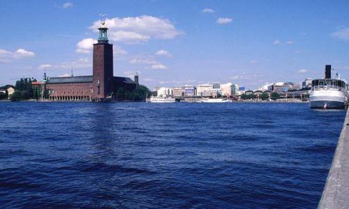 Zdjecie SZWECJA / brak / Sztokholm / ratusz