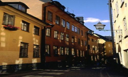 Zdjecie SZWECJA / brak / Sztokholm / i te uliczki