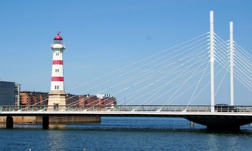 Zdjęcie SZWECJA / Malmo / Latarnia morska w Malmo / Przypominam o trwającym Konkursie LATARNIE MORSKIE !!!