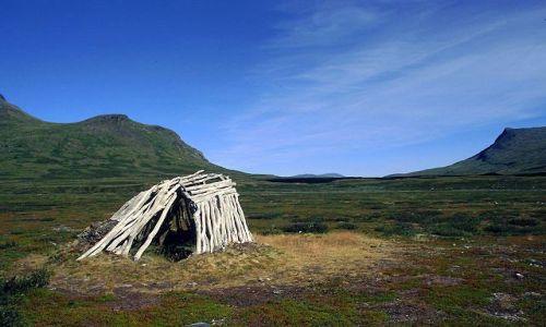 Zdjęcie SZWECJA / Lappland / na szlaku / te przestrzenie ...