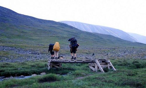 Zdjecie SZWECJA / Lappland / na szlaku / rodzinne wakacje