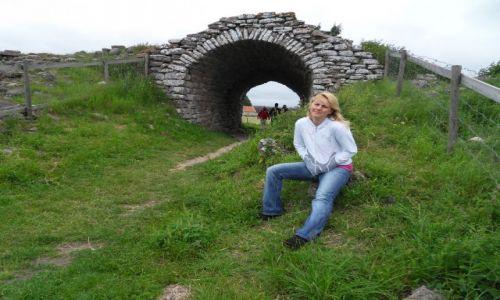 Zdjęcie SZWECJA / Olandia / Ruiny / Ruiny dawnego miasta wikingów