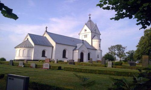 Zdjecie SZWECJA / Sjobo / Baldringe / Kościół Baldringe